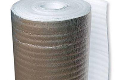 3мм подложка за ламинат с алуминиево фолио